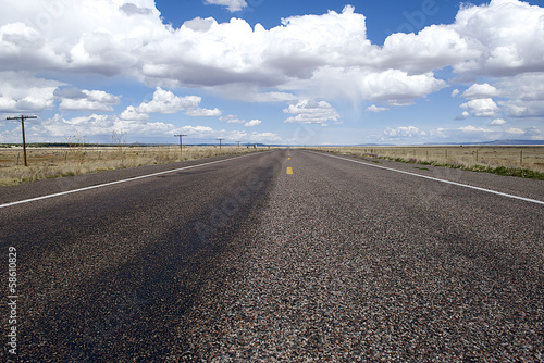 canvas print picture Amerika Road