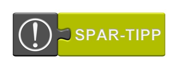 Puzzle-Button grau grün: Spar-Tipp