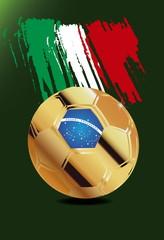 Italy in Soccer WM Brazil 2014