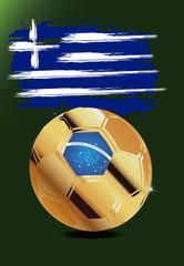 Griechenland in Soccer WM Brazil 2014