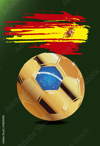 Spain,in Soccer WM Brazil 2014