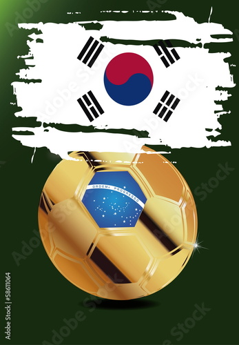 Korea in Soccer WM Brazil 2014