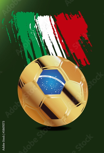 Italy in Soccer WM Brazil 2014