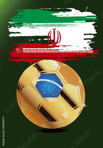 Iran in Soccer WM Brazil 2014