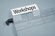 Ordner mit Workshops
