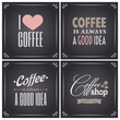 Chalkboard Coffee Collection