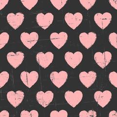 Chalkboard Hearts Pattern