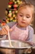 baking kids on christmas