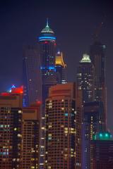Dubai nachts, HDR