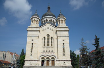 Cluj Napoca, orthodox cathdreal, Transylvania