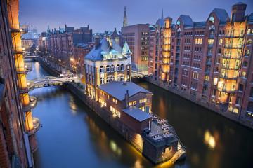 Hamburg- Speicherstadt.