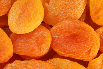Dried apricot background