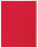 Red notepaper single sheet blank torn jotter notebook background