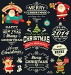 Christmas and New Year elements vector collection