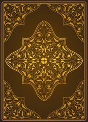 Osmanlı motifli kitap kapağı