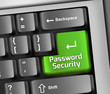 "Keyboard Illustration ""Password Security"""