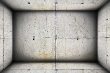 concrete industrial interior backdrop