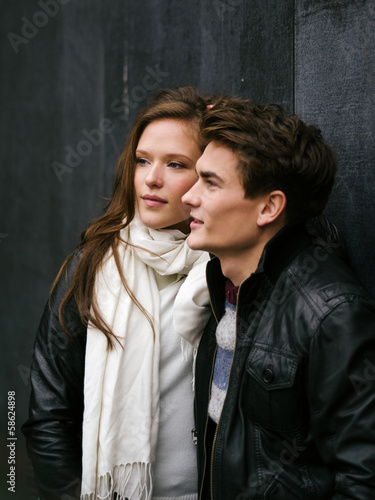 Beautiful couple in love