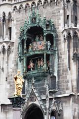 Carillon del municipio, Marienplatz - monaco di Baviera