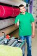erfolgreicher teppichverkäufer