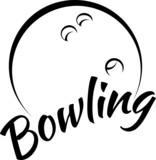Bowling with Fun Text