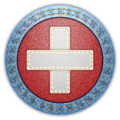Denim Switzerland flag