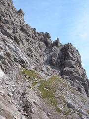 Steiler Bergfpad