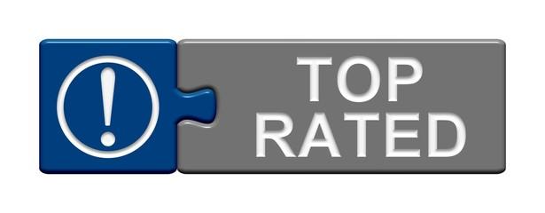 Puzzle-Button blau grau: Top rated