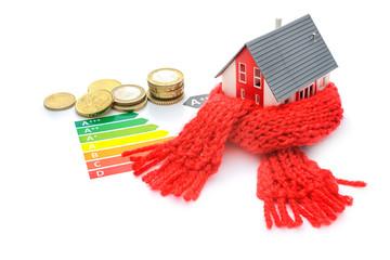 house energy efficiency concept