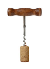 Corkscrew for wine.