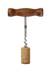 Corkscrew for wine.