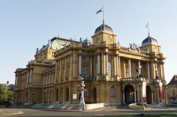 Teatro Nacional de Croacia en Zagreb
