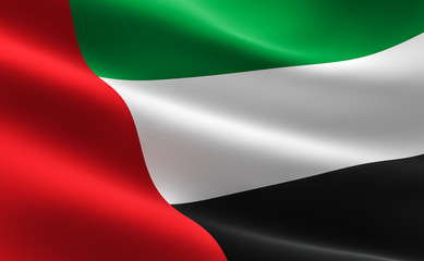 UAE United Arab Emirates flag
