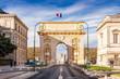 Arc de Triomphe à Montpellier, Hérault, Occitanie en France