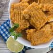 .Fish with carrots imbir sauce