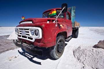 Bolivia - Salar Uyuni Salt mining