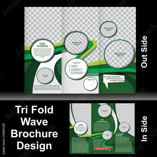 Tri Fold Wave Brochure