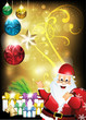 Christmas Holiday Background With Gifts