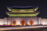 Gwanghwamun Gate in Seoul, South Korea
