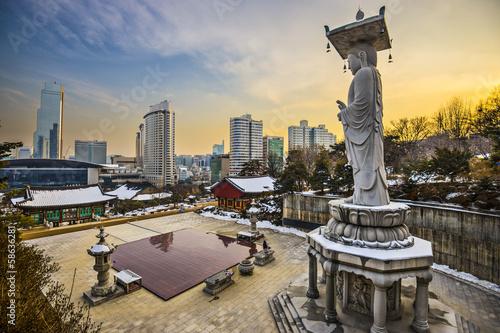 Poster Seoul South Korea