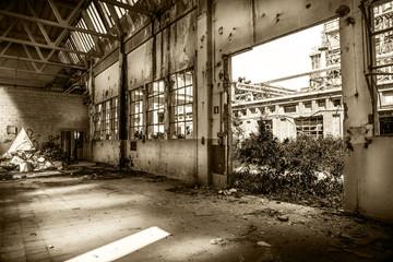 industria abbansonata