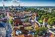 Tallinn Estonia Aerial View