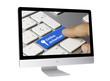 Online Sicherheit. Tastatur