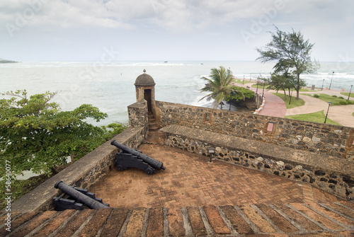 San Felipe Fortress at Puerto Plata, Dominican Republic