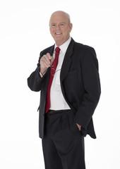 Cheerful Mature Businessman