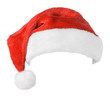 Santa Claus red hat isolated on white background - 58640809