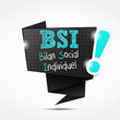 bulle origami acronyme : bsi