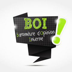 bulle origami acronyme : bsi (cs5)