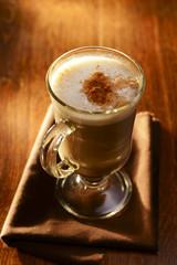 Mug of delicious hot chocolate