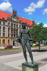 Skulptur in Magdeburg